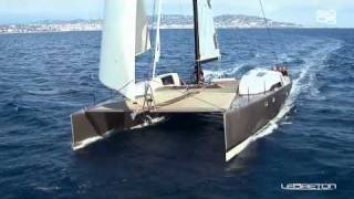SIG45 High Performance Catamaran Sailing Fast