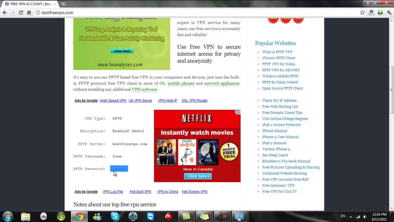 Desktop vpn — super free l2tp & pptp vpn accounts.