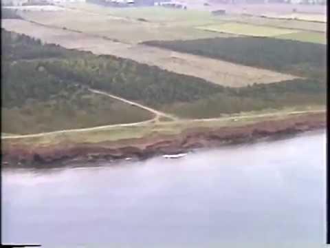 Aerial Survey, Part 1  East  Point to  Point  Deroche, Prince Edward Island Coastline