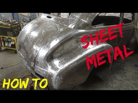 How To: Sheet Metal Repair or Patch EASILY