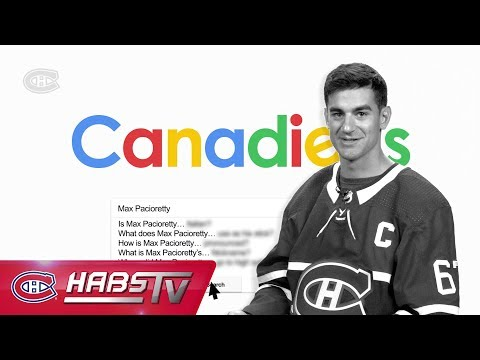 Max Pacioretty answers the Internet's most searched questions