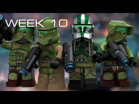 Building Kashyyyk in LEGO - Week 10: HUGE Parts Order