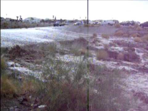 Oct 21, 2010 2:15pm Lake Havasu city flood.