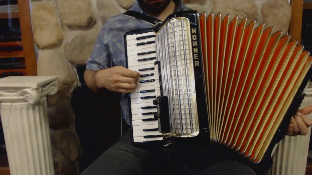 Akkordeon hohner concerto iii