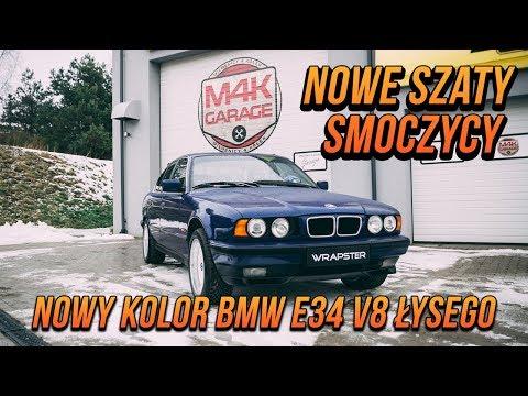 Nowe szaty smoczycy. Nowy kolor BMW e34 v8 Łysego