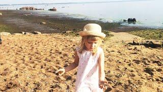 Детский влог Едем с Дианой на Финский залив и в ресторан Русская рыбалка