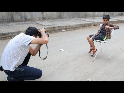 Photoshoot with kid at random outdoor location | outdoor photography | hindi tutorial