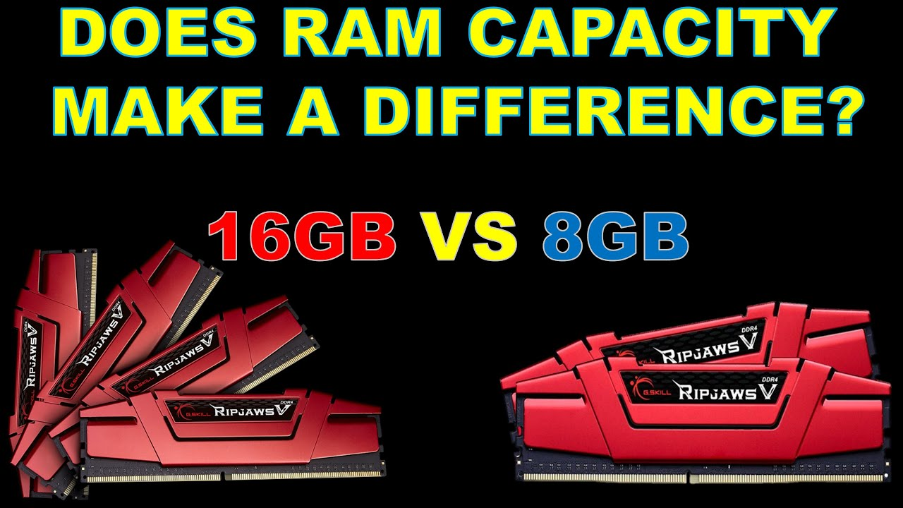 Is more RAM Worth it? 8GB vs 16GB