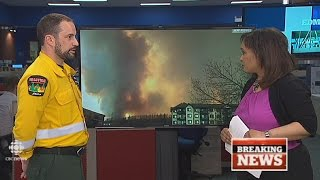 CBC News Edmonton: Fort McMurray wildfire special, May 3, 2016