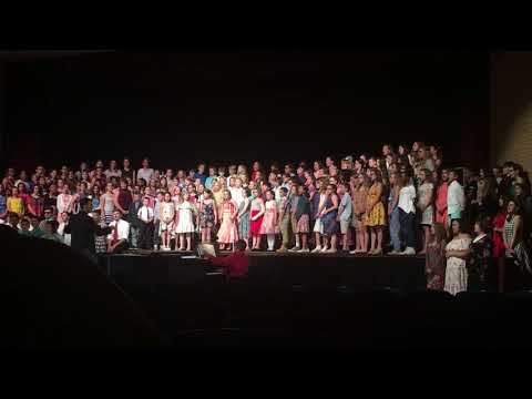 """East Rochester Elementary School 3rd - 12th Grade """"This Is Me"""" from The Greatest Showman"""