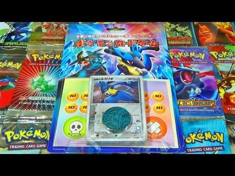 Ouverture du Deck Pokémon Lucario et le mystère de Mew - MERVEILLEUSES Cartes du Bloc EX ! poster