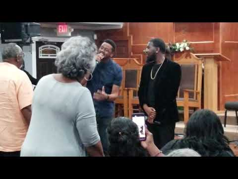 The hamiltones at st. Matthew's Baptist Church Houston Texas(2)
