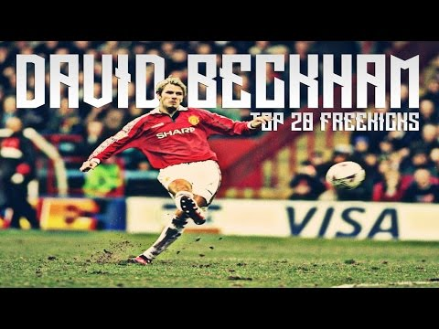 David Beckham - Top 20 Best Freekicks of All time