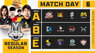 Free Fire Pro League Season 4 : Regular Season Day 6