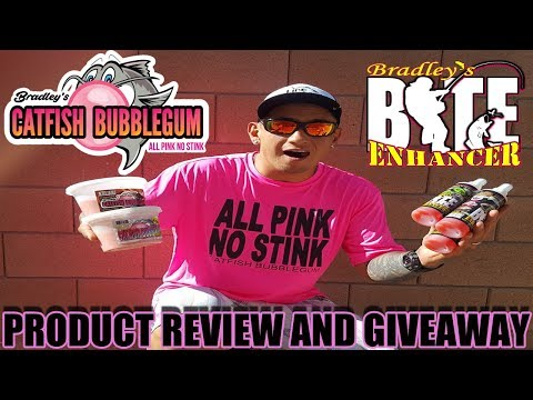Catfish Bubblegum-Bradley's Bite Enhancer (Review And GIveaway)