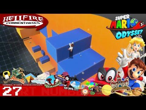 Super Mario Odyssey playthrough [Part 27: Trials of Blue and Orange] (POST GAME)