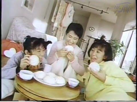 CM 井村屋 肉まん あんまん チャイルズ(磯野貴理子・久留龍子・茂原裕子) 1988年 80年代 レビュー NANJAA