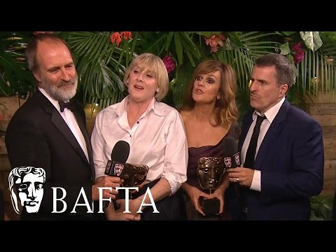 Happy Valley - Backstage Interview   BAFTA TV Awards 2017