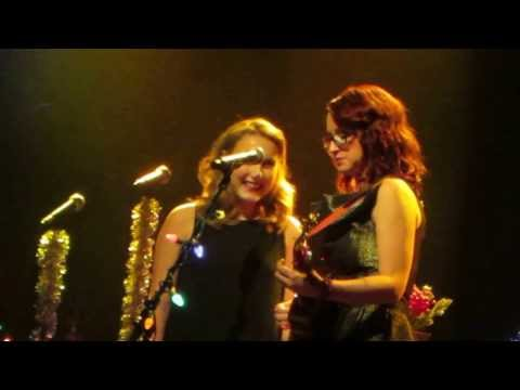 "Ingrid Michaelson and Caroline Pennell perform ""The Way I Am"" at 2013 Holiday Hop"