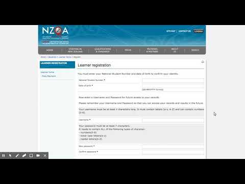 Getting your NZQA login