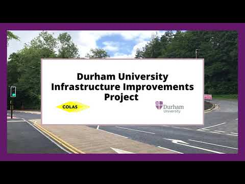 Infrastructure Improvements project – Section 1 completed