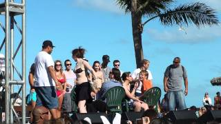 BSB Cruise 2011 - Musical Chairs at Beach Party