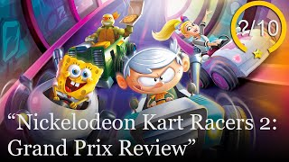 Nickelodeon Kart Racers 2: Grand Prix Review [PS4, Switch, Xbox One, & PC] (Video Game Video Review)