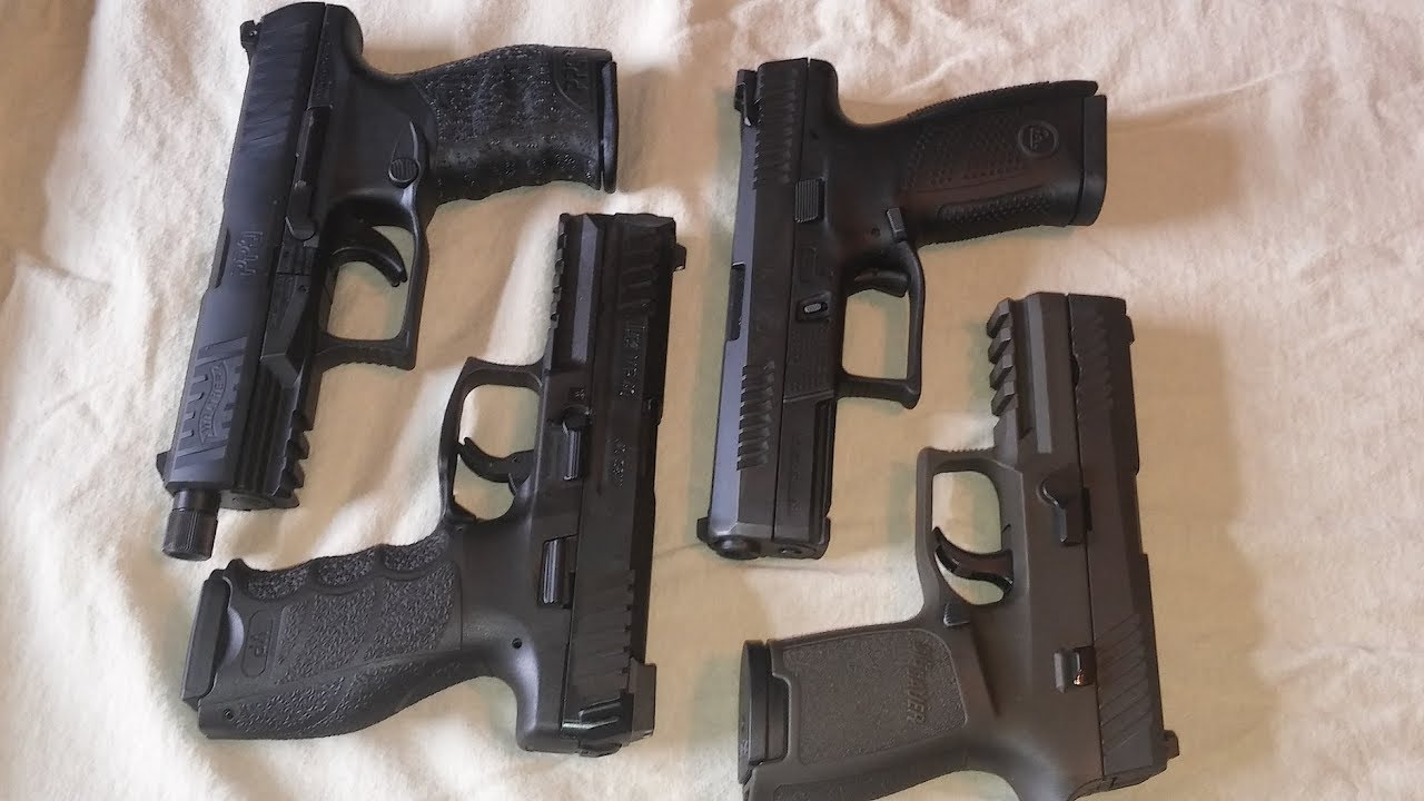 HK VP40 vs Walther PPQ vs CZ P10C vs Sig P320 PART ONE