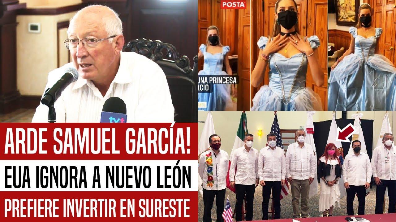 LE CAYÓ EL KARMA A SAMUEL GARCÍA! EUA IGNORA NUEVO LEÓN Y VA AL SURESTE. LAYDA LO PONE EN SU LUGAR