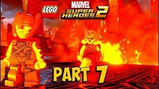 LEGO Marvel Super Heroes 2 Walkthrough Part 7 - Surtur-n Doom