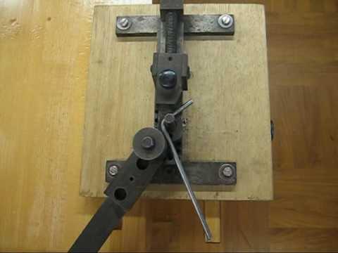 Metal bending jig