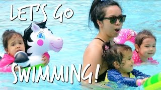 LET'S GO SWIMMING! - May 02, 2017 -  ItsJudysLife Vlogs