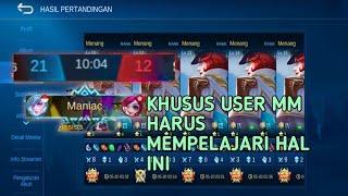 Beberapa Point Untuk User Marksman !! -Mobile Legend