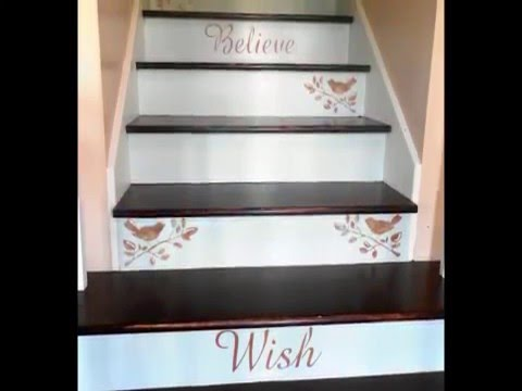 How To Update A Dingy  Carpeted Staircase