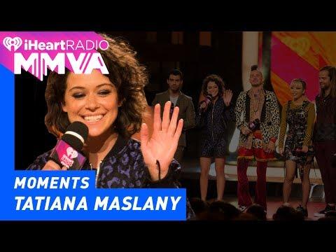 DNCE and Orphan Black's Tatiana Maslany Announce Imagine Dragons | 2017 iHeartRadio MMVAs
