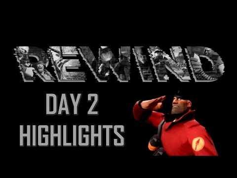 TF2 - ESA Rewind LAN Day 2 Highlights - Best Frags ►Team Fortress 2◄