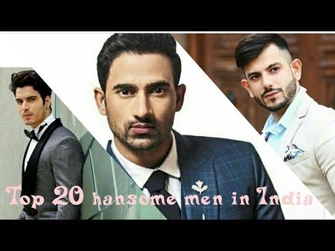 Top 20 || Most handsome men in India