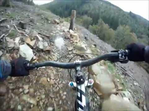 a5922426eaa Mountain biking at Coed Y Brenin - the best bits of the red MBR trail.