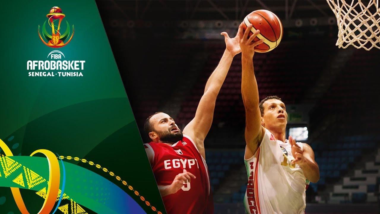 Morocco v Egypt - Full Game - Quarter-Final - FIBA AfroBasket 2017