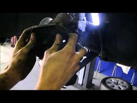 Audi a3 8p1 1.9 TDI frenos discos de freno y balatas zapatas atrás