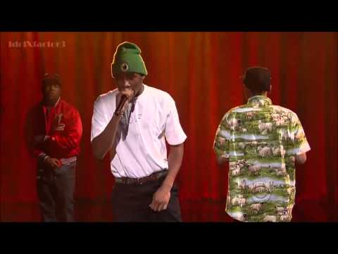 Tyler, The Creator  Rusty   On Letterman} With Domo And Earl