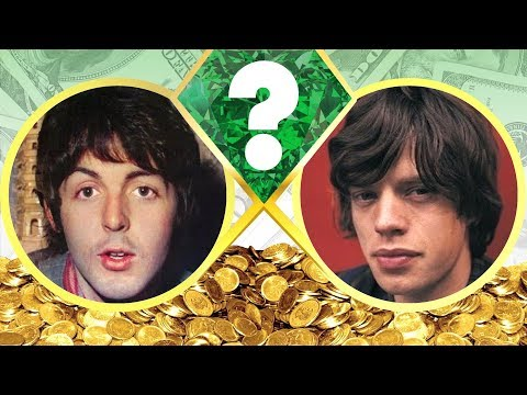 WHO'S RICHER? - Paul McCartney Or Mick Jagger? - Net Worth Revealed! (2017)