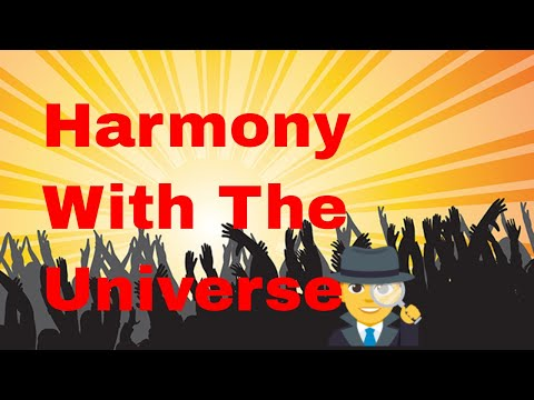 Harmony With The Universe