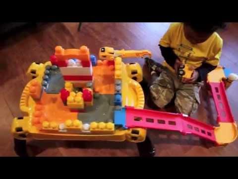 First Builders Cat Table Mega Bloks Youtube