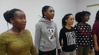 Namibian Choir in Moscow