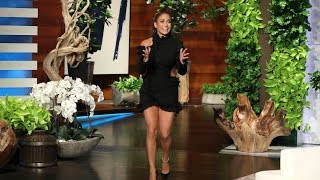 "Jennifer Lopez detailed the 10-day diet she and her boyfriend Alex Rodriguez recently tried, and admitted to Ellen she had a hard time giving up her love for sugar and carbs. Plus, the ""World of Dance"" judge talked about her amazing tribute to Motown at the Grammys.  #JenniferLopez #JLo #TheEllenShow"