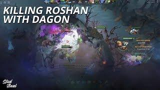 Killing Roshan with Dagon