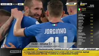 Футбол NEWS от 11.10.2018 (10:00) | Италия и Украина расписали ничью в контрольном матче