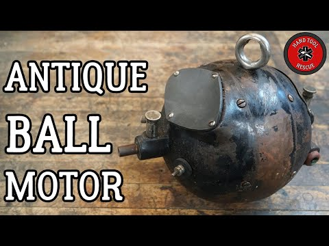 Rare Antique Ball Motor [Restoration]