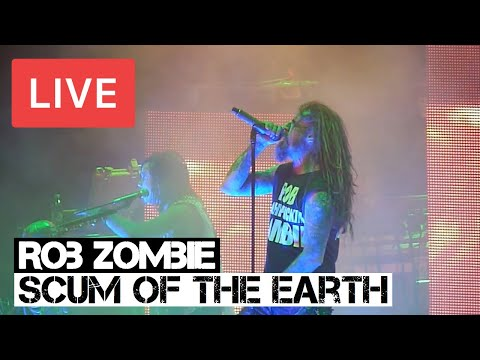 Rob Zombie  Scum of the Earth  in HD @ 02 Arena  London 2012